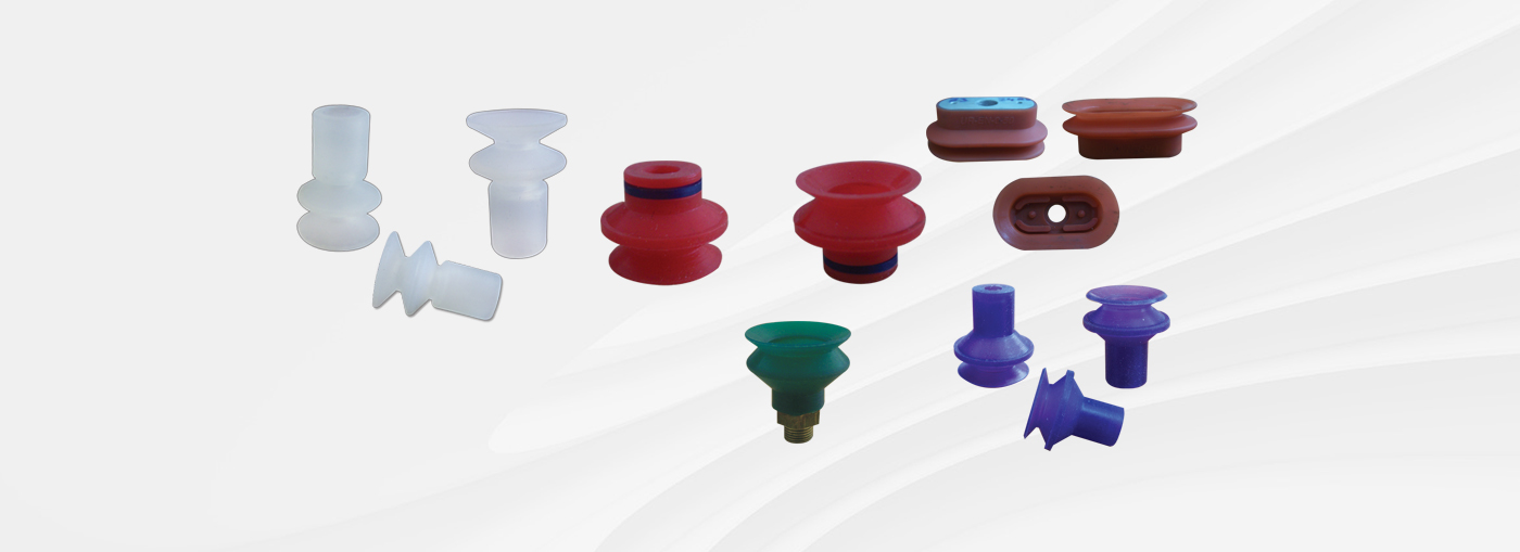 Suction Cups With 1,5 Bellows